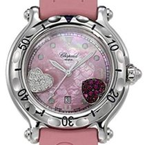 Chopard Happy Hearts Pink Mother Of Pearl Dial Ladies Quartz...