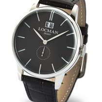 Locman Men's 1960 Solo Tempo Quartz Data 0252V01-00BKNKPK