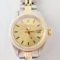Rolex Date Lady steel Gold 26 mm Diamond Bezel Aftermarket