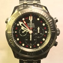 Omega Seamaster Drive 300m Co Axial GMT Chronograph