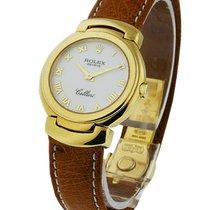 Rolex Unworn 6621.8wa Cellini Quartz Ladies 6621.8wa - Yellow...