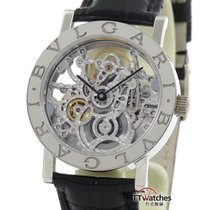 宝格丽 (Bulgari) Skeleton Automatic 18k White Gold Bbw33 Gl Sk...