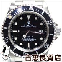 롤렉스 (Rolex) 【MT729】【中古】ROLEX【ロレックス】 シードゥエラー メンズ ブラック文字盤 腕時計...