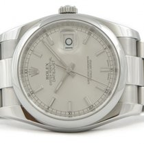 Rolex Datejust 116200 Silver Index Dial 36mm Stainless Steel M...