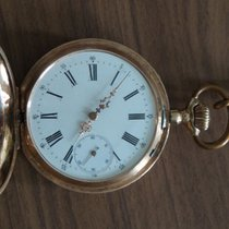Ancre Gold pocket watch  Ligne Droite - around 1920.