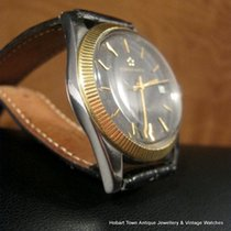 Eterna SUPER $$ REDUCTION  Eternamatic KonTiki 1960 14k Bezel ...