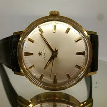 Zenith vintage small meca gold plated NOS cal 2542