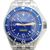 Azimuth Extreme-1 Sea Hum Dilango Racing Watch Blue Dial...