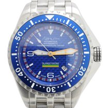 Azimuth Extreme-1 Sea Hum Dilango Racing Watch Blue Dial...