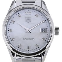 TAG Heuer Carrera 32 Quartz Gemstone MoP Dial