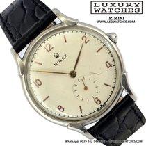 Rolex Precision 4498 Shock Resisting silver dial 1948