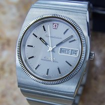 Omega Constellation Mega Quartz Swiss Made Mens Stainless St...