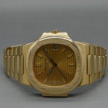 Patek Philippe Nautilus Vintage 18K Gelbgold mit Box und...