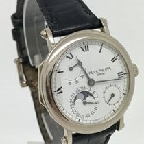 Patek Philippe Complications  Moonphase 18K White Gold B&P...