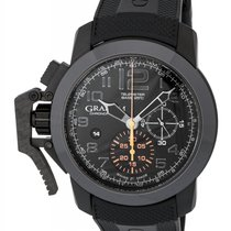 Graham Chronofighter Oversize Black Forest Chronograph Men's...