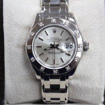Rolex Pearlmaster 80319 18k White Gold Original Diamond Bezel...