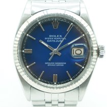 Rolex Datejust 36 Stainless Steel White Gold Bezel Blue Gradation