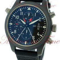 "IWC Pilot's Double Chronograph ""Top Gun"", Black..."