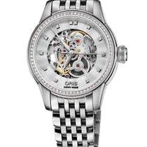 Oris Artelier Skeleton Diamonds Steel 31mm Steel Bracelet