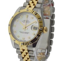 Rolex Used 178313_used_mopdd Midsize Datejust with Diamond...