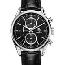 TAG Heuer CARRERA AUTOMATIC CALIBRE 1887 BLACK DIAL
