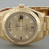 Rolex Day-Date II President 18K Solid Yellow Gold