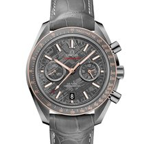Omega Meteorite Grey Side of the Moon Ceragold Ceramic case G