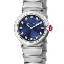 Bulgari Lucea Automatic 28mm Blue Diamond 102568