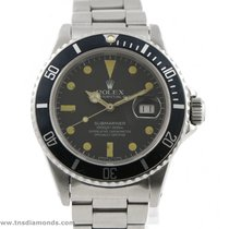 Rolex Vintage 1982 Rolex Submariner Date 16800 40mm Patina...