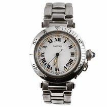 Cartier Pasha C Roman Dial Watch W31015M7 (Pre-Owned)