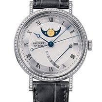Breguet Brequet Classique 8788 18K White Gold & Diamonds...