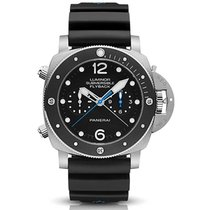 Panerai Luminor Submersible 1950 3 Days Chrono Flyback Pam615...