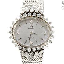 Omega De Ville  18K White Gold Diamonds