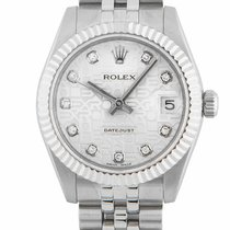 Rolex Lady Datejust 31 Steel & 18ct White Gold Diamond...