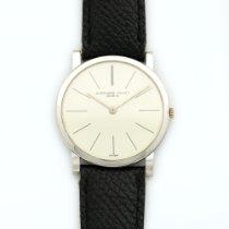 Audemars Piguet Vintage  White Gold Strap Watch