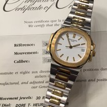 Patek Philippe 3800 Steel Gold with White Dial