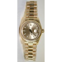 Rolex President 179178 Lady's 18K Yellow Gold New Style...