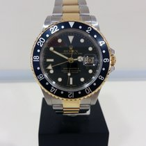 Rolex GMT Master II Yellow Gold/Steel 16713