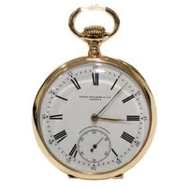 百达翡丽  (Patek Philippe) Gondolo Pocket Watch Gold 18Kt 52mm