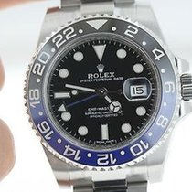 ロレックス (Rolex) Mens Ceramic Gmt 2 Ii Blue Black Bruiser....