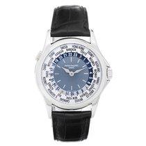Patek Philippe World Time Men's Complicated Platinum Watch...