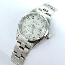 Rolex Datejust Damenuhr Mit Brillanten Diamanten Stahl Oysterband