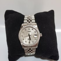 Rolex Lady-Datejust 31mm Diamond - warranty 1 year