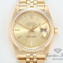 Rolex Datejust Gelbgold 750 Automatik Herrenuhr 36 mm Date Just