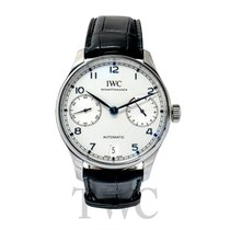 IWC Portugieser Automatic White S/S 42.3mm - IW500705