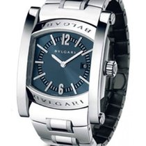 Bulgari AA39C14SSD Assioma Quartz in Steel - On Bracelet with...
