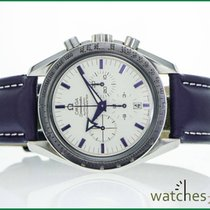 Omega Speedmaster Broad Arrow weiss 42 mm Saphir