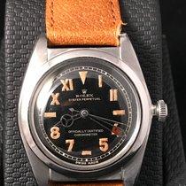 Rolex Bubble Back 2940 Matte Black Dial