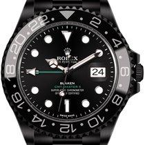 Rolex GMT-Master II (black, DLC) by Blaken