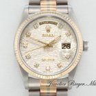 Rolex Day Date Tridor 750 Diamanten Automatik